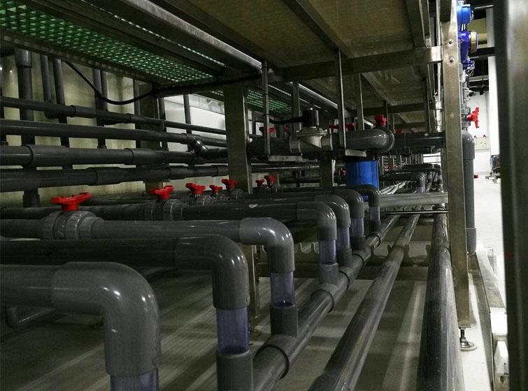 化镍金设备排水系统