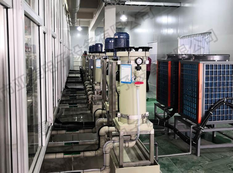 电镀生产设备-化学镍金生产线-过滤系统