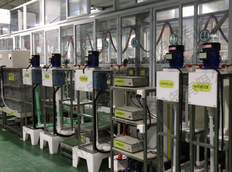 化学镍金生产线
