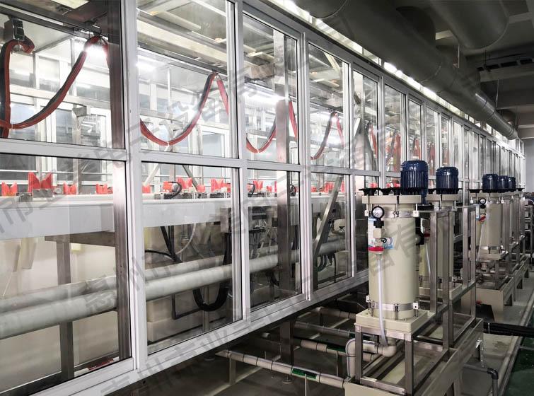 电镀设备-化学镍金生产线-可视封闭系统