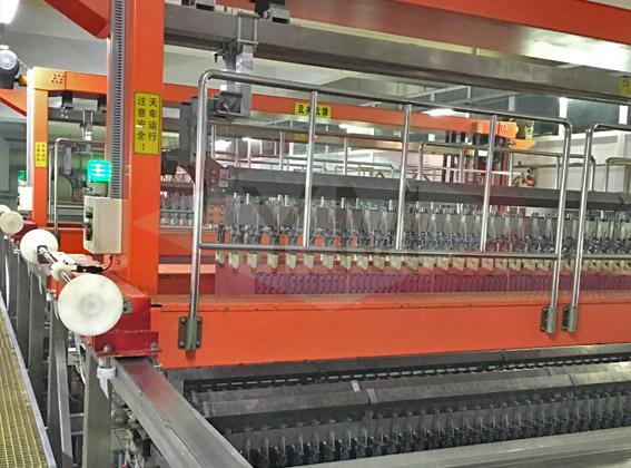 电镀机械设备-大型图型电镀线