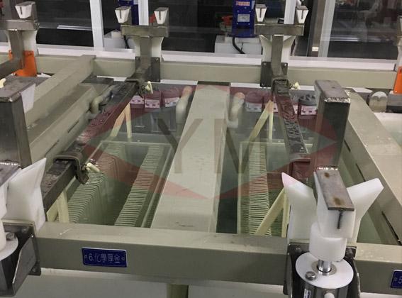 电镀设备生产线-高品质金槽板料挂篮