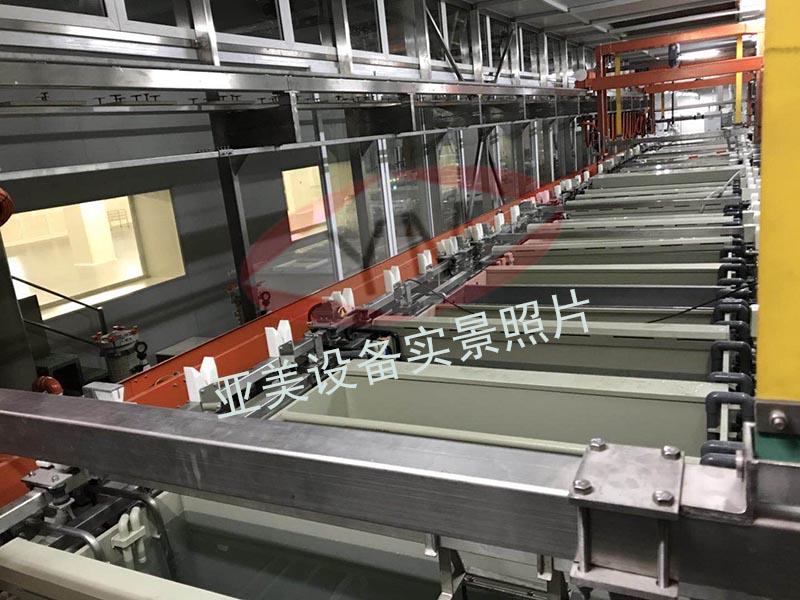 新装化学镍金生产线