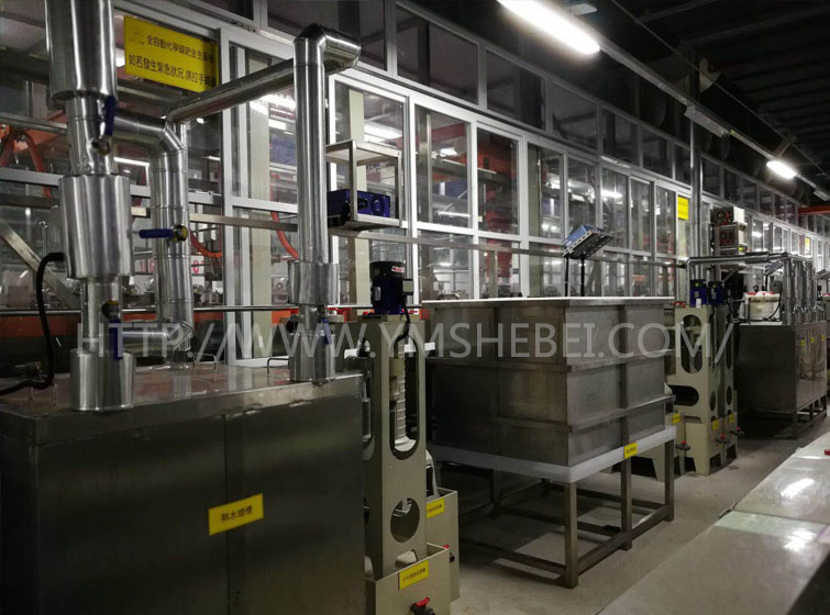 化镍金不锈钢热水槽蒸汽加热系统