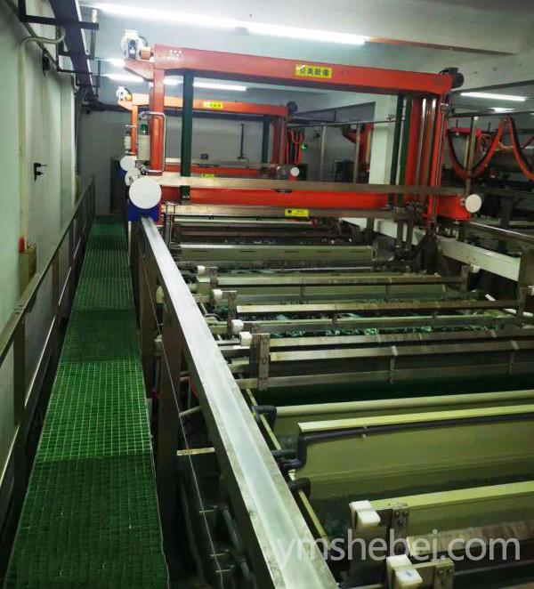全自動電鍍鎳金生產線